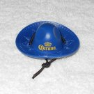 Corona - Sombrero Shaped Bottle Opener - Blue Plastic - New