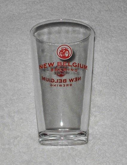 New Belgium Brewing - Pint Glass - Clear w/ Logo - 16 Ounce