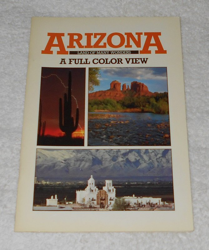 """Arizona: Land Of Many Wonders"" by Smith-Southwestern (Petley Studios)"