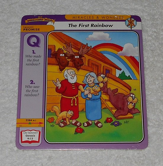 """""""The Beginners Bible: The First Rainbow"""" by James Leininger (1997, Grolier Books)"""