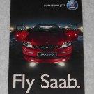 Saab 9-3 Postcard - Born From Jets