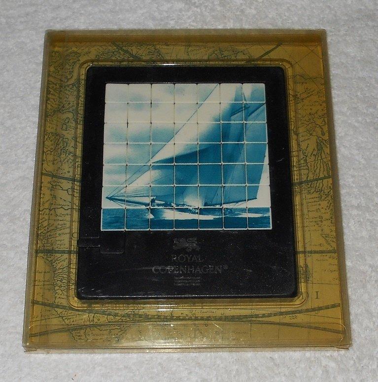 Royal Copenhagen - Tall Ship Puzzle - Tsumura International - 1993 - Includes Original Packaging