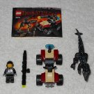 LEGO 7473 - Street Sprinter vs Mutant Lizard - Dino Attack - 2005 - Complete Set w/ Instructions