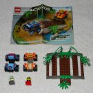 LEGO 4595 - Zero Tornado / Hot Rock - Racers - 2002 - Complete Set w/ Instructions