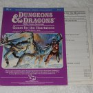 Quest For The Heartstone - Dungeons & Dragons - TSR 9114 - 1984 - ISBN 0880381116