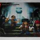 LEGO Pirates Of The Caribbean - On Stranger Tides - Two-Sided Poster - 2011