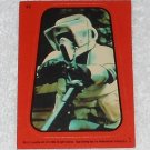Scout Trooper - Sticker # 33 - Star Wars - Return Of The Jedi - Topps - 1983