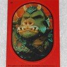 Gamorrean Guard - Sticker # 22 - Star Wars - Return Of The Jedi - Topps - 1983