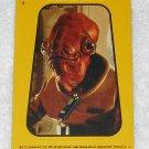 Mon Calamari Officer - Sticker # 6 - Star Wars - Return Of The Jedi - Topps - 1983
