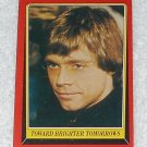 Toward Brighter Tomorrows - Card # 130 - Star Wars - Return Of The Jedi - Topps - 1983