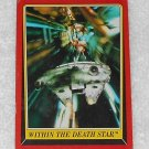 Within The Death Star - Card # 125 - Star Wars - Return Of The Jedi - Topps - 1983
