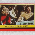 The Death Star Raid - Card # 123 - Star Wars - Return Of The Jedi - Topps - 1983