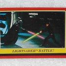 Lightsaber Battle - Card # 120 - Star Wars - Return Of The Jedi - Topps - 1983