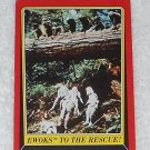 Ewoks To The Rescue - Card # 111 - Star Wars - Return Of The Jedi - Topps - 1983