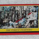 The Forest Fighters - Card # 107 - Star Wars - Return Of The Jedi - Topps - 1983
