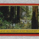 AT-ST (All Terrain Scout Transport) - Card # 106 - Star Wars - Return Of The Jedi - Topps - 1983