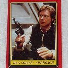 Han Solo's Approach - Card # 98 - Star Wars - Return Of The Jedi - Topps - 1983