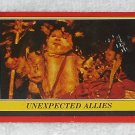 Unexpected Allies - Card # 92 - Star Wars - Return Of The Jedi - Topps - 1983