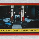 Entering The Throne Room - Card # 76 - Star Wars - Return Of The Jedi - Topps - 1983