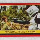 Imperial Scout Peril - Card # 75 - Star Wars - Return Of The Jedi - Topps - 1983