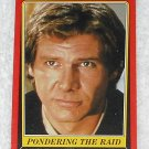 Pondering The Raid - Card # 62 - Star Wars - Return Of The Jedi - Topps - 1983