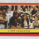 A New Challenge - Card # 61 - Star Wars - Return Of The Jedi - Topps - 1983