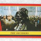 The Deciders - Card # 56 - Star Wars - Return Of The Jedi - Topps - 1983