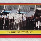On The Death Star - Card # 54 - Star Wars - Return Of The Jedi - Topps - 1983