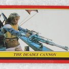 The Deadly Cannon - Card # 50 - Star Wars - Return Of The Jedi - Topps - 1983