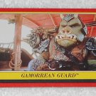 Gamorrean Guard - Card # 49 - Star Wars - Return Of The Jedi - Topps - 1983