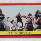 Fury Of The Jedi - Card # 44 - Star Wars - Return Of The Jedi - Topps - 1983