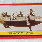 The Battle Begins - Card # 42 - Star Wars - Return Of The Jedi - Topps - 1983