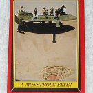 A Monstrous Fate - Card # 41 - Star Wars - Return Of The Jedi - Topps - 1983