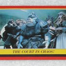 The Court In Chaos - Card # 35 - Star Wars - Return Of The Jedi - Topps - 1983