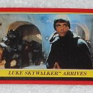 Luke Skywalker Arrives - Card # 33 - Star Wars - Return Of The Jedi - Topps - 1983