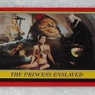 The Princess Enslaved - Card # 32 - Star Wars - Return Of The Jedi - Topps - 1983