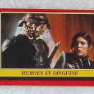 Heroes In Disguise - Card # 31 - Star Wars - Return Of The Jedi - Topps - 1983