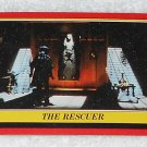 The Rescuer - Card # 28 - Star Wars - Return Of The Jedi - Topps - 1983