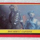 Boushh's Captive - Card # 24 - Star Wars - Return Of The Jedi - Topps - 1983
