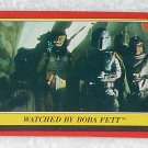 Watched By Boba Fett - Card # 23 - Star Wars - Return Of The Jedi - Topps - 1983