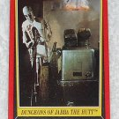 Dungeons Of Jabba The Hutt - Card # 18 - Star Wars - Return Of The Jedi - Topps - 1983