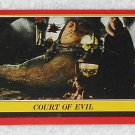 Court Of Evil - Card # 13 - Star Wars - Return Of The Jedi - Topps - 1983