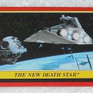 The New Death Star - Card # 9 - Star Wars - Return Of The Jedi - Topps - 1983