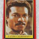 Lando Calrissian - Card # 6 - Star Wars - Return Of The Jedi - Topps - 1983