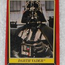 Darth Vader - Card # 3 - Star Wars - Return Of The Jedi - Topps - 1983