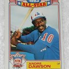 Andre Dawson - Card # 18 - Topps - Baseball - 1983 All Star Game Commemorative Set