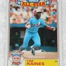 Tim Raines - Card # 17 - Topps - Baseball - 1983 All Star Game Commemorative Set