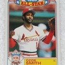 Ozzie Smith - Card # 16 - Topps - Baseball - 1983 All Star Game Commemorative Set
