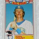 Robin Yount - Card # 5 - Topps - Baseball - 1983 All Star Game Commemorative Set
