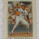 Sid Fernandez - Card # 51 - Topps - Baseball - Major League Leaders - 1986